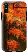 Leaves Over Water IPhone X Tough Case