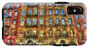 Led Zeppelin Physical Graffiti Building In Color IPhone X Tough Case