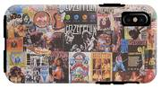 Led Zeppelin Years Collage IPhone X Tough Case