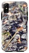 Leopard Frog And Gravel IPhone X Tough Case