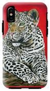 Leopard IPhone X Tough Case