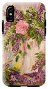 Lilacs And Peony IPhone X Tough Case