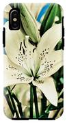 Lilies In White IPhone X Tough Case