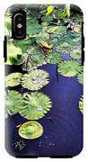 Lilly Pad IPhone X Tough Case