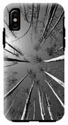 Line Creek Burn Area 8 Bw IPhone X Tough Case