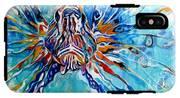 Lion Fish Blue IPhone X Tough Case