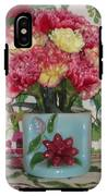 Little Old Vase And Carnations IPhone X Tough Case