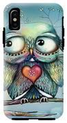 Little Wood Owl IPhone X Tough Case