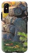 Log Pile IPhone X Tough Case