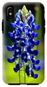Lone Star Bluebonnet IPhone X Tough Case