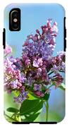 Love My Lilacs IPhone X Tough Case