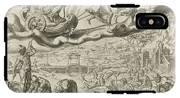 Luna, The Moon, And Her Children, Harmen Jansz Muller IPhone X Tough Case