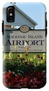 Mackinac Island Airport IPhone X Tough Case