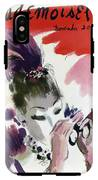 Mademoiselle Cover Featuring A Woman Looking IPhone X Tough Case