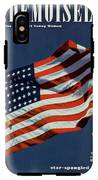 Mademoiselle Cover Featuring The U.s. Flag IPhone X Tough Case