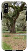 Majestic Live Oaks In Spring IPhone X Tough Case