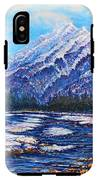 Majestic Peak - Futurism IPhone X Tough Case