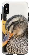 Mallard At Rest IPhone X Tough Case