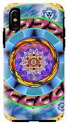 Mandala Wormhole 101 IPhone X Tough Case