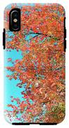 Maple Tree In Autumn IPhone X Tough Case