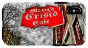 Marie's Crisis Cafe IPhone X Tough Case