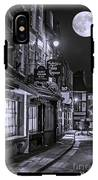 Medieval Street In York Bw IPhone X Tough Case