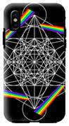 Metatron's Rainbow Healing Cube IPhone X Tough Case