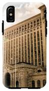 Michigan Central Station IPhone X Tough Case