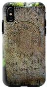 Military Grave IPhone X Tough Case
