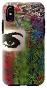 Mixed Media Abstract Post Modern Art By Alfredo Garcia Eye See You 2 IPhone X Tough Case