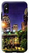Moon Over Houston IPhone X Tough Case