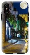 Moon Over Old City Of The York IPhone X Tough Case