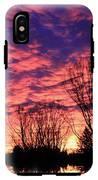 Morning Reflection IPhone X Tough Case