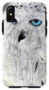 Snow Owl IPhone X Tough Case
