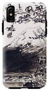 Mount Fuji Spring Blossoms IPhone X Tough Case