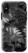 Mountain Ferns 1 IPhone X Tough Case