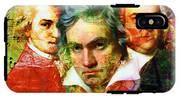 Mozart Beethoven Bach 20140128 IPhone X Tough Case