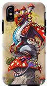 Mushroom Dragon IPhone X Tough Case