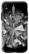 New York 2 Circagraph IPhone X Tough Case