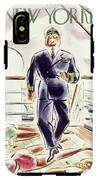 New Yorker April 9 1938 IPhone X Tough Case