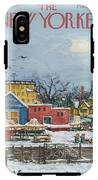 New Yorker January 6th, 1973 IPhone X Tough Case