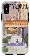 New Yorker March 8th, 1976 IPhone X Tough Case