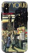 New Yorker November 22nd, 1958 IPhone X Tough Case
