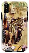 New Yorker November 4th, 1950 IPhone X Tough Case