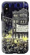 New Yorker October 31 1936 IPhone X Tough Case