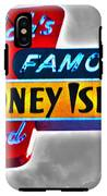 Nick's Famous Food IPhone X Tough Case