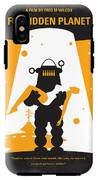 No415 My Forbidden Planet Minimal Movie Poster IPhone X Tough Case