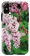 Nocturne Lilac Flowers IPhone X Tough Case