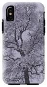 Oak In Snow IPhone X Tough Case