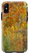October Watercolors_2 IPhone X Tough Case